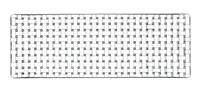 Nachtmann Bossa Nova; Platte rechteckig 42 cm (93090081412)
