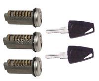 3 Steckzylinder inklusive 2 Schlüssel (932952573)