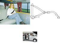 3-Punkt Automatik- Sicherheitsgurt 400 cm (932958151)