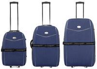 Kofferset 3tlg Bali / Farbe blau Größen: 77cm / 67cm / 57cm, Material: 600D-Nylongewebe (933931055)
