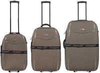 Kofferset 3tlg Bali / Farbe braun Größen: 77cm / 67cm / 57cm, Material: 600D-Nylongewebe (933931056)