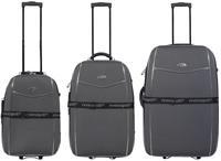 Kofferset 3tlg Bali / Farbe schwarz Größen: 77cm / 67cm / 57cm, Material: 600D-Nylongewebe (933931057)