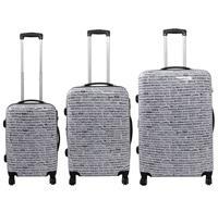 Kofferset 3tlg City Größen: 75cm / 65cm / 55cm, Aussenmaterial 100% Polycarbonat (933931267)