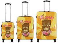 Kofferset 3tlg Hawaii I Größen: 74cm / 64cm / 54cm, Außenmaterial 100% Polycarbonat (933935518)