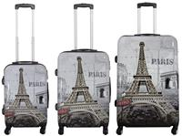 Kofferset 3tlg Paris II Größen: 77cm / 67cm / 57cm, Außenmaterial 100% Polycarbonat (933936907)