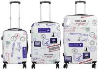 Kofferset 3tlg Flight Größen: 77cm / 68cm / 58cm, Außenmaterial 100% Polycarbonat (933937872)