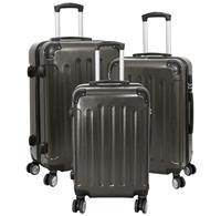 Kofferset 3tlg Avalon 2 / Farbe anthrazit Größen: 78cm / 66cm / 56cm, ABS-Kunststoff (933937968)