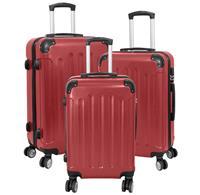 Kofferset 3tlg Avalon 2 / Farbe rot Größen: 78cm / 66cm / 56cm, ABS-Kunststoff (933937970)
