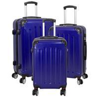 Kofferset 3tlg Avalon 2 / Farbe blau Größen: 78cm / 66cm / 56cm, ABS-Kunststoff (933937971)