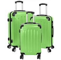 Kofferset 3tlg Avalon 2 / Farbe grün Größen: 78cm / 66cm / 56cm, ABS-Kunststoff (933937973)