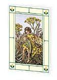 24er Pack Fee Grußkarte Flower-Fairy-Minikarte Rainfarn bunt Bildkarten (9359217110050)