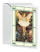 24er Pack Fee Grußkarte Flower-Fairy-Minikarte Weihnacht bunt Bildkarten (9359217122050)