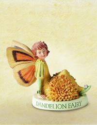 Dandelion Flower Fairy Fee 7cm (9359217229)