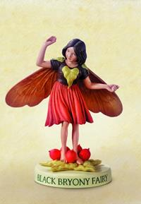 Black Bryony Flower Fairy Fee 11cm (9359217280)