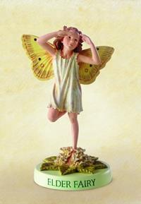 Elder Flower Fairy Fee 11cm (9359217285)