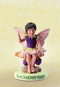 Blackberry Flower Fairy Fee 9cm (9359217295)