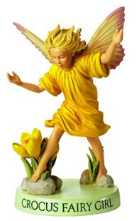 Crocus Flower Fairy Fee Girl 11cm (9359217313)