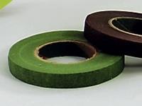 12er Pack Blumenband Floratape-Wickelband 13mm grün Deko Bandage (9359326032800)