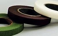 12er Pack Blumenband Floratape-Wickelband 13mm braun Deko Bandage (9359326032900)
