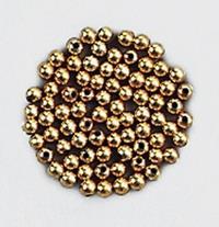 1000er Pack Schmuckperlen Wachsperlen metall 3mm gold Dekoration Bastelbedarf (9359610003290)