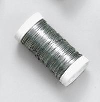 10er Pack Blumendraht Myrthendraht 0,37mm silber Deko Bindedraht Basteldraht (9359860190190)