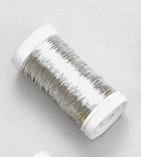 10er Pack Blumendraht Deko-Silberdraht 0,50mm silber Deko Bindedraht Basteldraht (9359860191190)