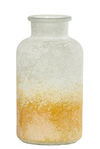 12er Pack Karaffe Glaskaraffe 10,5x20cm hellgelb Dekoration Flasche (9359941201201)