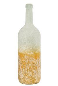 12er Pack Flasche Glasflasche 10x34,5cm hellgelb Dekoration (9359941205201)