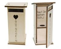 Gutscheinhäuschen / Coupon house -KaufKeinMist- (9489373163342)