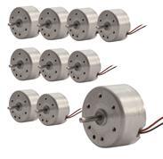 10er Pack Solarmotor RF300 / Solar motor RF300, 10 mm (9489373900046)