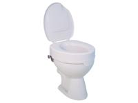 Toilettensitzerhöhung Ticco 2G, weiß mit Deckel von Drive Medical (9499108329)