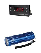 Temperaturregler TSM 1000, mit LED Alu Taschenlampe (95297771114470)