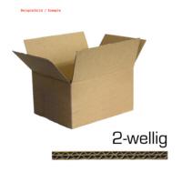 100er Pack Faltkarton DA4 - 300 x 215 x 140mm 2-wellig Verpackungskarton (9559100289)