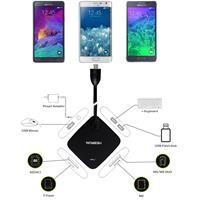 HEBRON, Micro USB Hub Connection KitGalaxy Note 4, Note 4 Edge und Galaxy Alpha, DS38603 (9729296386032)