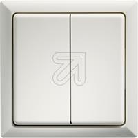 ELTAKO Funktaster 63x63mm FT4F-ws weiß (9829118135)