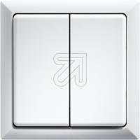 ELTAKO Funktaster 63x63 FT4F-rw reinweiß (9829118140)