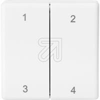 ELTAKO Funk Minihandsender FMH4-ws weiß (9829118145)