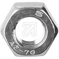 100er Pack Edelstahl-Sechskantmuttern M8 (9829196445)