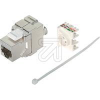 10er Pack Universalmodul-Einsatz Cat.6 A 'Keystone' TC 75004 (9829241510)