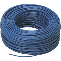 100 Meter H07V-K 1,5 blau (9829362105)