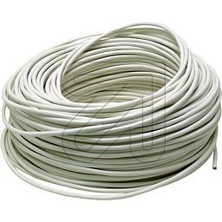 100 Meter H05VV-F 3G1,0 weiß (9829362420)