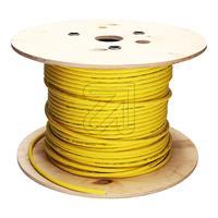 100 Meter Datenkabel S/STP 4x2xAWG23 Farbe: gelb (9829365660)
