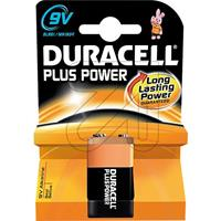 10er Pack Duracell 9V-Block Plus Power 81478255 /- (9829373490)