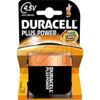 10er Pack Duracell Flach 4.5 V Plus Power (9829373500)