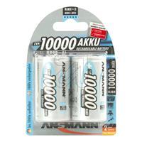 10er Pack Ansmann-NiMH-Akku Mono 9,3 Ah 5030072 (9829374745)