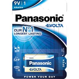 12er Pack Panasonic-Batterie Evolta 6LR61EGE/1BP (9829374975)