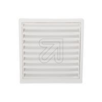 Abdeckgitter 125mm weiß 9417 (9829441905)