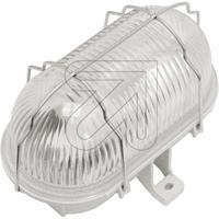 4er Pack Oval-Armatur IP44 60W grau 57-1002-002 (51-0150-102) (9829667405)