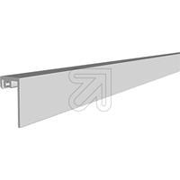 Alu Wandprofil flach 200cm APWF 200 (9829685815)