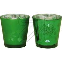 2er Pack Teelicht-Glas Set grün (9829868220)